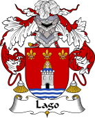 Portuguese Coat of Arms for Lago