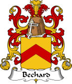 Coat of Arms from France for Bechard