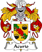 Spanish Coat of Arms for Acurio