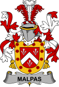 Irish Coat of Arms for Malpas