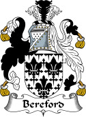 English Coat of Arms for Bereford