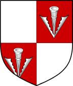 Coat of Arms from France for Cowper