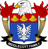 American Coat of Arms for Middlecott
