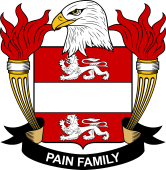 American Coat of Arms for Pain