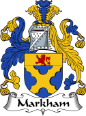 Irish Coat of Arms for Markham