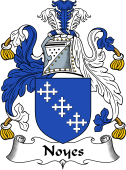 English Coat of Arms for Noyes