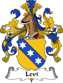 German Wappen Coat of Arms for Levi