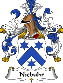 German Wappen Coat of Arms for Niebuhr