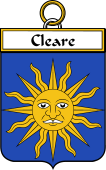 Irish Badge for Cleare