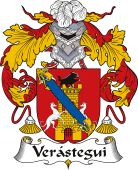 Spanish Coat of Arms for Verástegui