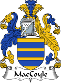 Irish Coat of Arms for MacCoyle