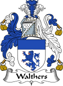 English Coat of Arms for Walthers