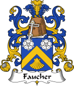 Coat of Arms from France for Faucher