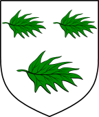 English Family Shield for Arnest