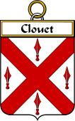 French Coat of Arms Badge for Clouet