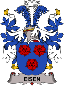 Danish Coat of Arms for Eisen