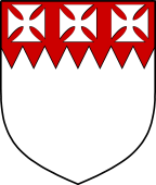 English Family Shield for Perceval