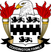 American Coat of Arms for Coddington