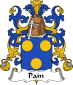 Coat of Arms from France for Pain