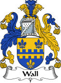 English Coat of Arms for Wall