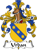 German Wappen Coat of Arms for Urban