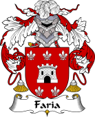 Spanish Coat of Arms for Faria