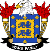 American Coat of Arms for Ware