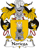 Spanish Coat of Arms for Noriega or Noriego