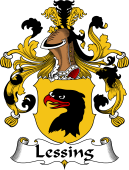 German Wappen Coat of Arms for Lessing