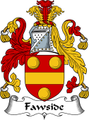 Scottish Coat of Arms for Fawside or Fawsyde