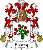 Coat of Arms from France for Fleury I