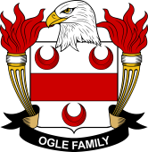 American Coat of Arms for Ogle