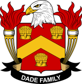 American Coat of Arms for Dade