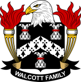 American Coat of Arms for Walcott