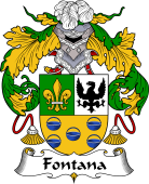 Spanish Coat of Arms for Fontana