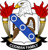 American Coat of Arms for Codman