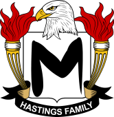 American Coat of Arms for Hastings
