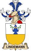 Republic of Austria Coat of Arms for Lindemann