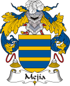 Spanish Coat of Arms for Mejía or Mejías