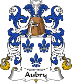 Coat of Arms from France for Aubry