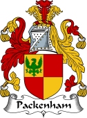 Irish Coat of Arms for Packenham
