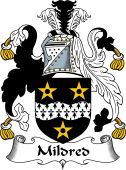 English Coat of Arms for Mildred