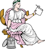 Gods and Goddesses Clipart image: Clio