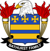 American Coat of Arms for Bathurst
