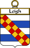 Irish Badge for Leigh or McLaeghis