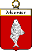 French Coat of Arms Badge for Meunier