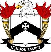 American Coat of Arms for Benson