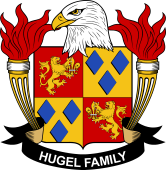 American Coat of Arms for Hugel