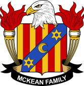 American Coat of Arms for McKean
