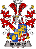 Swedish Coat of Arms for Brauner